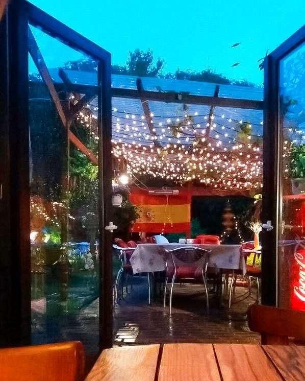 Abendstimmung im Sommergarten